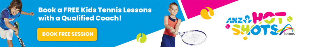 Free Tennis Lessons | ANZ Hot Shots