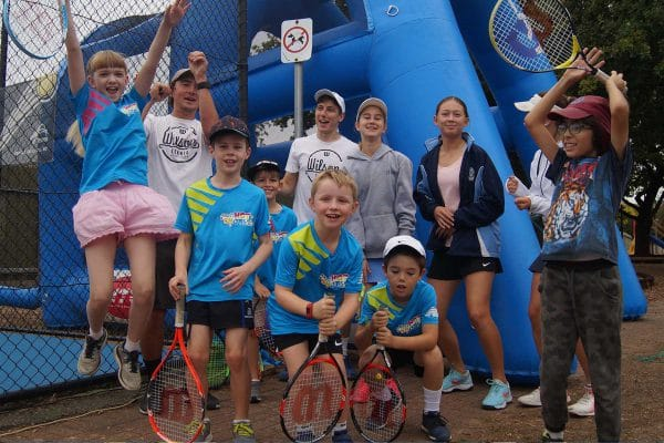 HRTS - Tennis for Kids at our end of Term Showdown