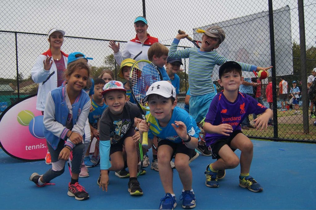 Helen Rice Tennis School Hot Shots Kids | Tennis Lessons for Kids