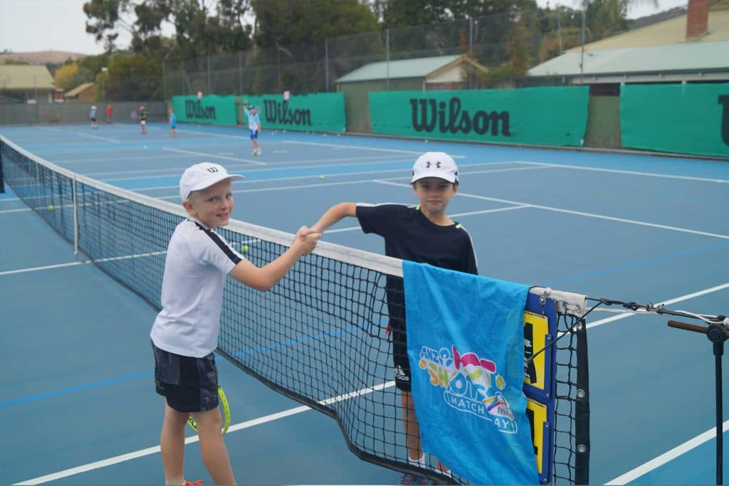 Tennis Competition | HRTS Students at our Hot Shots Showdown