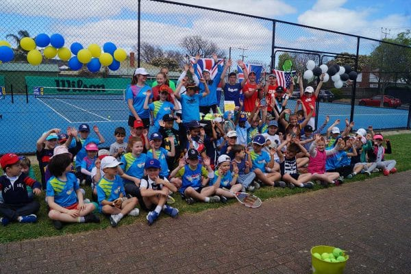 Our US Open Holiday Tennis Clinic Participants :)