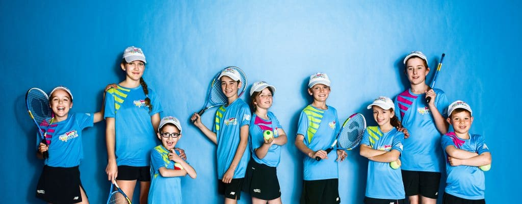 Kids Tennis Coaching | ANZ Hot Shots group