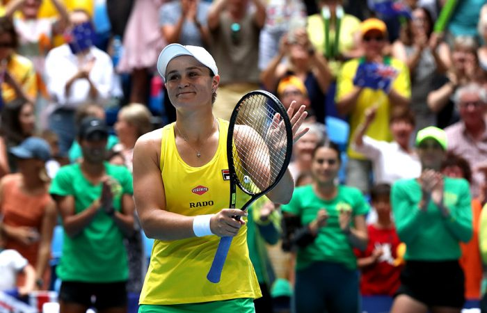 Fed Cup - Barty